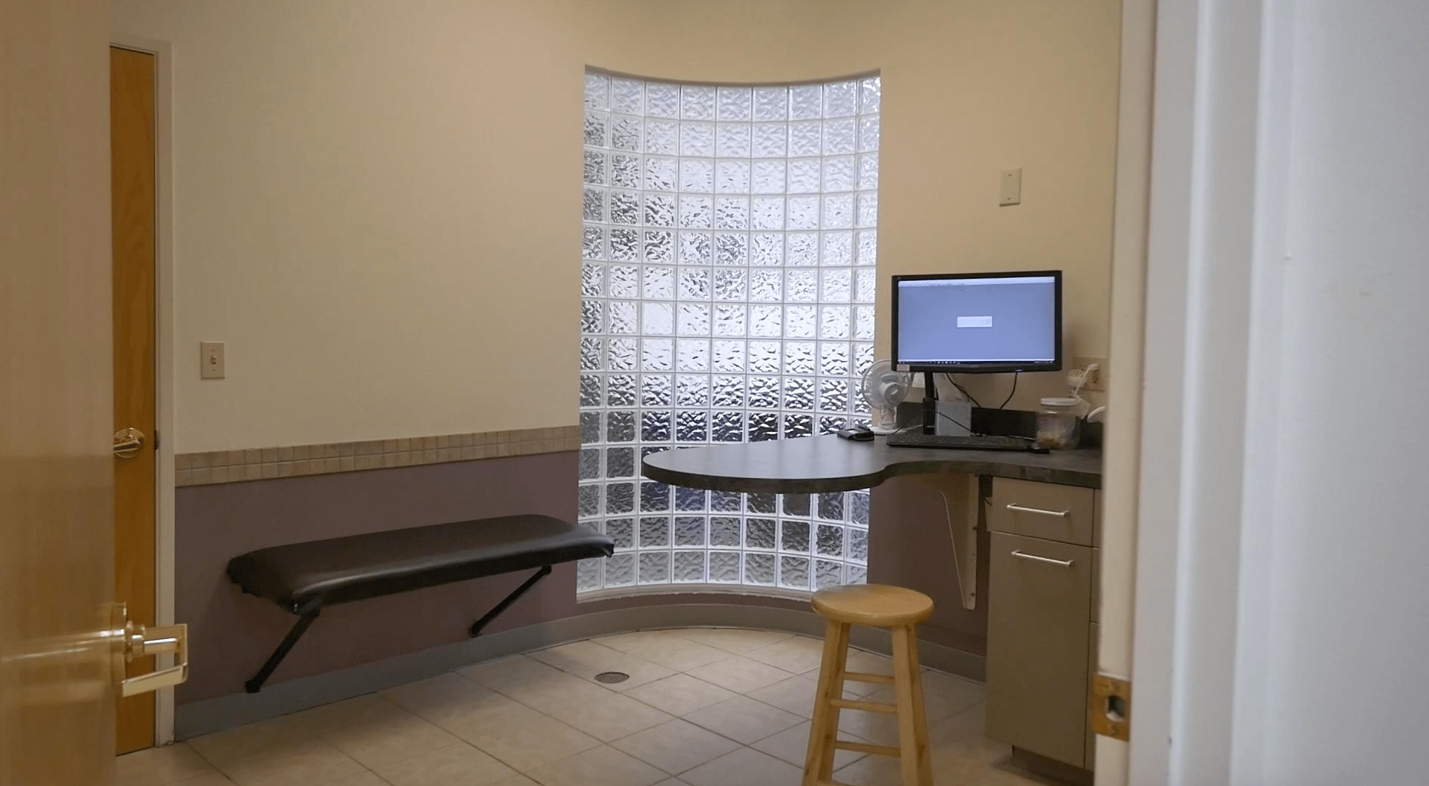 Exam room at Cat & Dog Hospital of Portland